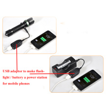 Adaptador USB para desviar la linterna a una central eléctrica