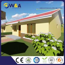 (WAS1503-60D) Immeuble de construction à bas prix Maisons de log modulaires préfabriquées pour les ventes
