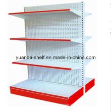 Sistema de estante de exhibición de acero de la estantería con el agujero (YD-008)