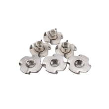 Stainless Steel A2-70 Manufacture Furniture Four Claw T-Nut