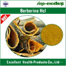 100% de Cloridrato de Berberina Natural / HCl Berberina