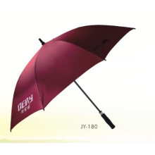 Manual Open Foam Handle Advertising Umbrella (JY-180)