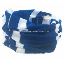 Fabricant de produits en Chine Logo personnalisé Polyester imprimé Sports Écharpe multifonctionnel à tube tubulaire Buff Buff