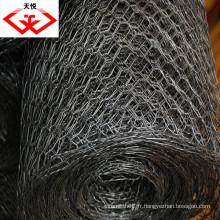 Tissu métallique hexagonal galvanisé (fabricant)