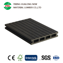 Wood Plastic Composite Hollow Decking for Outdoor Use (HLM167)