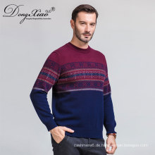 Alibaba.Com Lieferanten Männer Mix Farbe Mode O Neck Pullover Kaschmirpullover