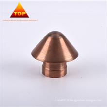 Processo de metalurgia do pó CuW75 eletrodo de tungstênio de cobre