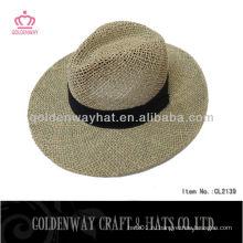Модная ковбойская соломенная шляпа для мужчин