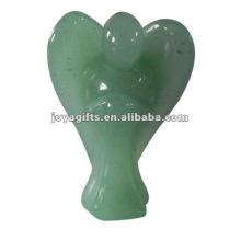 Зеленый Авантюрин Драгоценный камень Ангел Ремесло Сбор