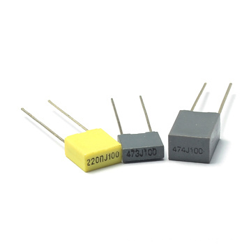 Mini Box 5mm Metallized Polyester Film Capacitor