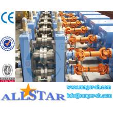 Máquina para produzir tubo retangular de chapa galvanizada