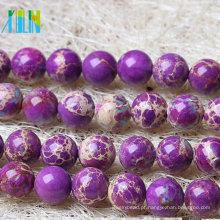 Atacado Lot Pedra Natural Gemstone Rodada Spacer Loose Beads 4 MM 6 MM 8 MM 10 MM