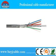 Cable de control eléctrico Cable de cobre Cable de control blindado
