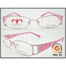 2015 Fashionable Hot Selling Eyewear for Ladies Metal Reading Glasses (WRM410001)