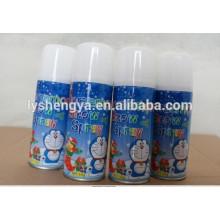 Weihnachtsverrückte Parteischnur dumme Farbschnur-Sprayherstellung in China