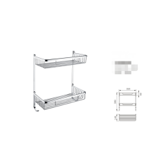 High End Stainless Steel Shower Caddy