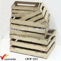 Wholesale Rustic Distressed Wooden Apple Crates