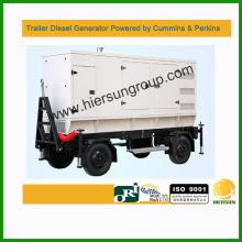 380V AC three phase 480kw trailer diesel generator