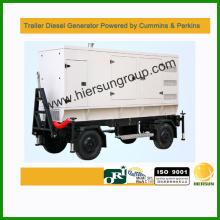 380V AC трехфазный 500kw прицеп дизель-генератор
