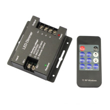 DC12V-24V 18A 11key Iron shell LED Single Color Dimmer Wireless Controller for single color led strip