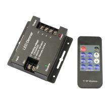 12В-24В 18А 11key Утюг Shell светодиодные одноцветные диммер беспроводной контроллер для одного цвета светодиодные полосы