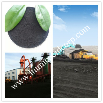 Agricultural use humic acid