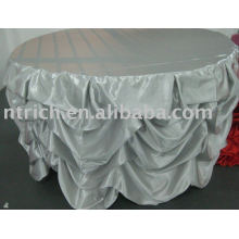 Gorgeous Ruffled Table Cloth