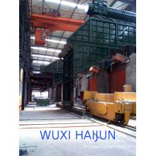 Industrial Scrap Metal Melting Induction Furnace , 3t / 500hz