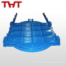 Válvula de forragem de ferro fundido redondo pn16