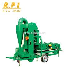 Máquina do líquido de limpeza de tela do ar da semente da grão com espanador de ciclone