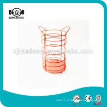 Peleles de metal revestidos ecológicos Stand / Chopsticks Rack para cozinha / Chopsticks Tube