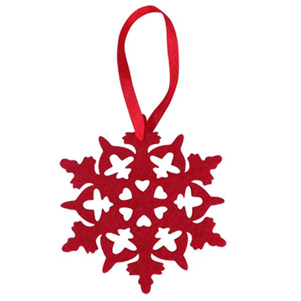 Hollow Pattern Christmas Hanging Pendant