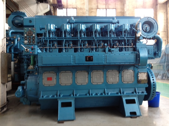 MARINE PROPULSION ENGINE (MEDIUM SPEED ENGINE)