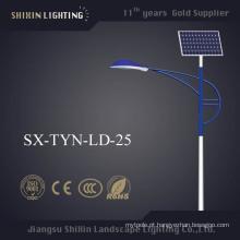 O Ce aprovou a luz de rua solar do diodo emissor de luz de IP68 7m 30W