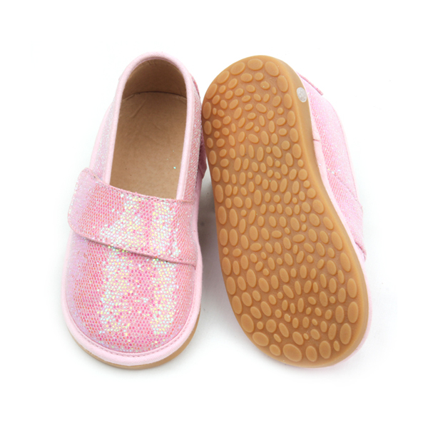 Kids Squeaky Shoes Sound Girls Sequins Shoes