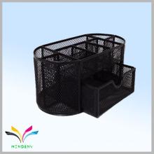 Канцелярские товары черный металл офис организатор сетка стол