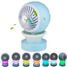 China for Rechargeable Mini Fan Quiet Rechargeable Personal Portable Table Fan for Bedroom supply to Netherlands Exporter