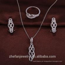 moda jóias indianas handmade 925 anel de prata conjunto