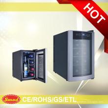Refrigerador do vinho de 8 garrafas com CE / ETL / ROHS / PSE