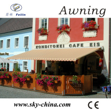Aluminum retractable awnings canopy