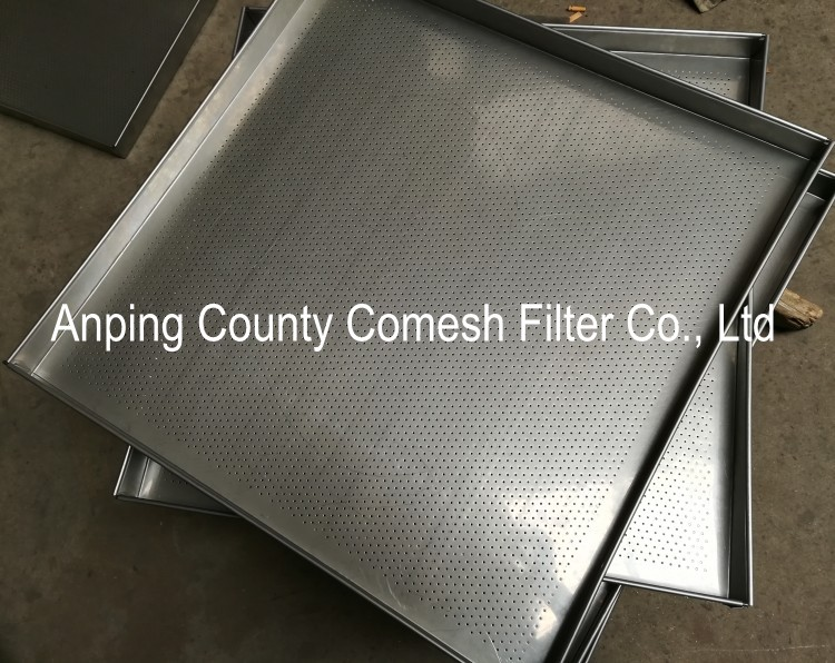 Perforated 304 Stainless Steel Filter Tray