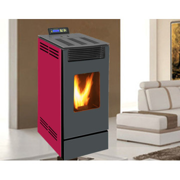 Wood Pellet Stove (NB-PS-C) Burgundy