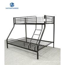 Dormitory Kids Double Bunk Bed Bedroom Furniture Steel Frame Bed