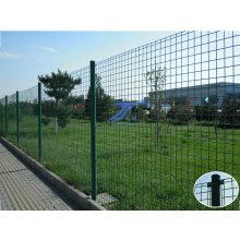 PVC-beschichteter Zaun mit rundem Pfosten