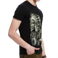 Hot Sale Black 3D Printing T-Shirt