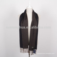 обратимые цвета мужской шерстяной шарф