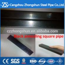 Schwarzes Glühen 25 * 1,5mm Vierkantrohr und rechteckiger Stahl und Rohr