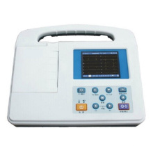 Portable Three Channels ECG Machine
