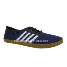 Zapatos casuales baratos de las mujeres con la inyección del PVC (2609-L)