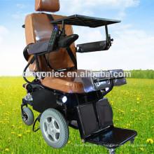 ДГ-SW04 дешевые легкий моторизованный электрическая стоящая кресло-коляска для инвалидов цена для продажи